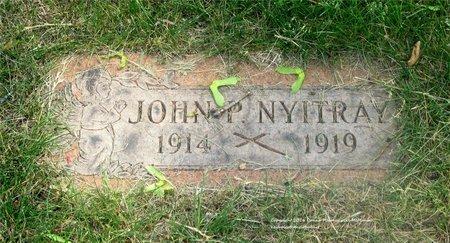NYITRAY, JOHN - Lucas County, Ohio | JOHN NYITRAY - Ohio Gravestone Photos
