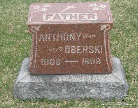 OBERSKI, ANTHONY - Lucas County, Ohio | ANTHONY OBERSKI - Ohio Gravestone Photos