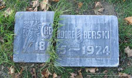 OBERSKI, THEODORE - Lucas County, Ohio | THEODORE OBERSKI - Ohio Gravestone Photos
