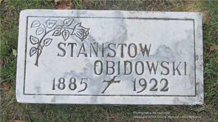 OBIDOWSKI, STANISLAW - Lucas County, Ohio   STANISLAW OBIDOWSKI - Ohio Gravestone Photos