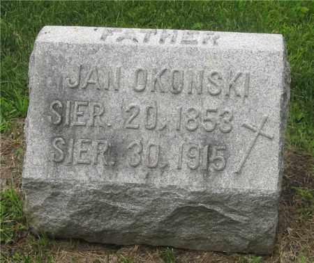 OKONSKI, JAN - Lucas County, Ohio | JAN OKONSKI - Ohio Gravestone Photos