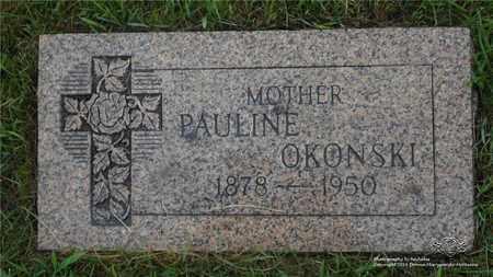 OKONSKI, PAULINE - Lucas County, Ohio | PAULINE OKONSKI - Ohio Gravestone Photos