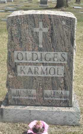 KEITH OLDIGES, LENA - Lucas County, Ohio   LENA KEITH OLDIGES - Ohio Gravestone Photos