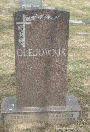OLEJOWNIK, FRANCES - Lucas County, Ohio | FRANCES OLEJOWNIK - Ohio Gravestone Photos