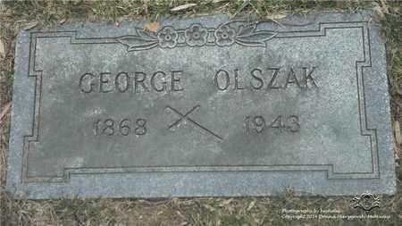 OLSZAK, GEORGE - Lucas County, Ohio | GEORGE OLSZAK - Ohio Gravestone Photos