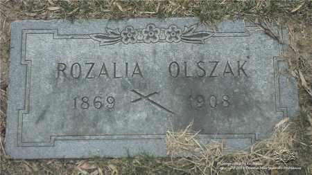 OLSZAK, ROZALIA - Lucas County, Ohio | ROZALIA OLSZAK - Ohio Gravestone Photos