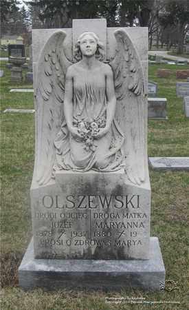 OLSZEWSKI, MARYANNA - Lucas County, Ohio | MARYANNA OLSZEWSKI - Ohio Gravestone Photos