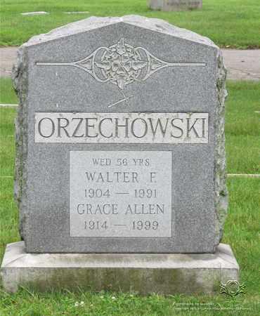 ALLEN ORZECHOWSKI, GRACE - Lucas County, Ohio | GRACE ALLEN ORZECHOWSKI - Ohio Gravestone Photos