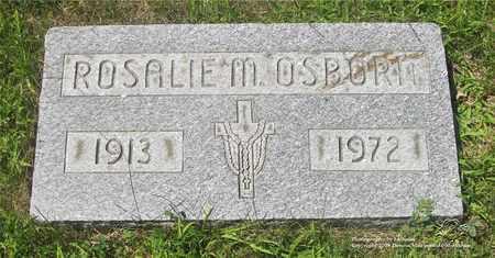 OSBORN, ROSALIE M. - Lucas County, Ohio   ROSALIE M. OSBORN - Ohio Gravestone Photos