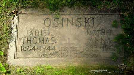 OSINSKI, THOMAS - Lucas County, Ohio   THOMAS OSINSKI - Ohio Gravestone Photos