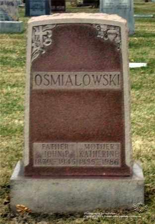 OSMIALOWSKI, KATHERINE - Lucas County, Ohio   KATHERINE OSMIALOWSKI - Ohio Gravestone Photos