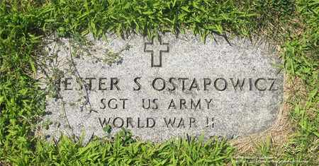 OSTAPOWICZ, CHESTER S. - Lucas County, Ohio   CHESTER S. OSTAPOWICZ - Ohio Gravestone Photos