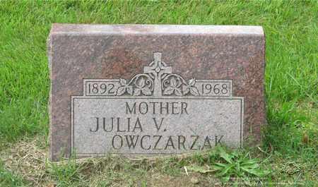 OWCZARZAK, JULIA - Lucas County, Ohio   JULIA OWCZARZAK - Ohio Gravestone Photos