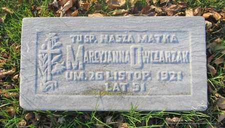 STARZYNSKI OWCZARZAK, MARCYJANNA - Lucas County, Ohio | MARCYJANNA STARZYNSKI OWCZARZAK - Ohio Gravestone Photos