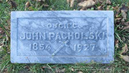 PACHOLSKI, JOHN - Lucas County, Ohio | JOHN PACHOLSKI - Ohio Gravestone Photos