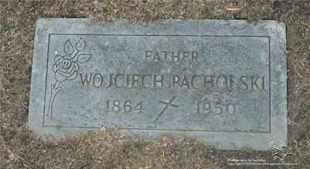 PACHOLSKI, WOJCIECH - Lucas County, Ohio | WOJCIECH PACHOLSKI - Ohio Gravestone Photos
