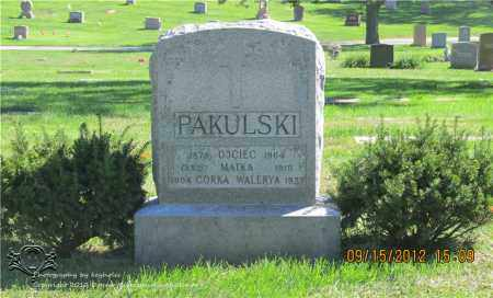 PAKULSKI, FRANK - Lucas County, Ohio | FRANK PAKULSKI - Ohio Gravestone Photos