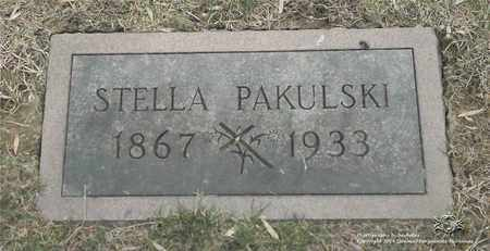 PAKULSKI, STELLA - Lucas County, Ohio | STELLA PAKULSKI - Ohio Gravestone Photos
