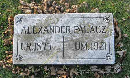 PALACZ, ALEXANDER - Lucas County, Ohio   ALEXANDER PALACZ - Ohio Gravestone Photos