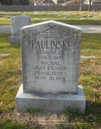 PAULINSKI, MICHAL - Lucas County, Ohio | MICHAL PAULINSKI - Ohio Gravestone Photos