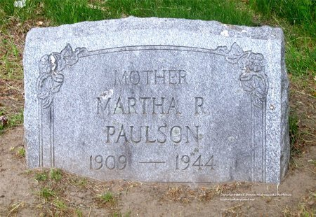 BAKER PAULSON, MARTHA R. - Lucas County, Ohio | MARTHA R. BAKER PAULSON - Ohio Gravestone Photos