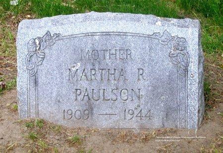 BAKER PAULSON, MARTHA R. - Lucas County, Ohio | MARTHA R. BAKER PAULSON - Ohio Gravestone Photos