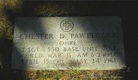 PAWELCZAK, CHESTER D. (MILITARY STONE) - Lucas County, Ohio | CHESTER D. (MILITARY STONE) PAWELCZAK - Ohio Gravestone Photos