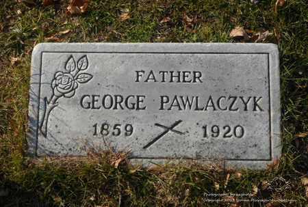 PAWLACZYK, GEORGE - Lucas County, Ohio | GEORGE PAWLACZYK - Ohio Gravestone Photos