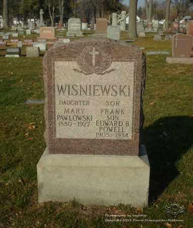 WISNIEWSKI PAWLOWSKI, MARY - Lucas County, Ohio | MARY WISNIEWSKI PAWLOWSKI - Ohio Gravestone Photos