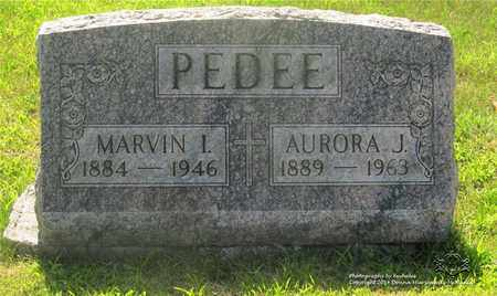 PEDEE, AURORA J. - Lucas County, Ohio | AURORA J. PEDEE - Ohio Gravestone Photos