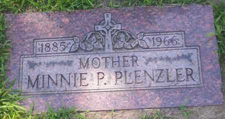 PLENZLER, MINNIE P. - Lucas County, Ohio | MINNIE P. PLENZLER - Ohio Gravestone Photos