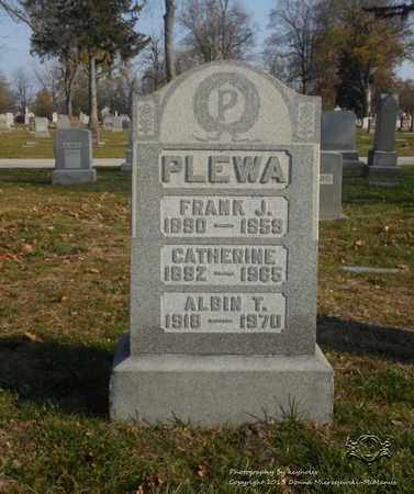 PLEWA, CATHERINE - Lucas County, Ohio | CATHERINE PLEWA - Ohio Gravestone Photos