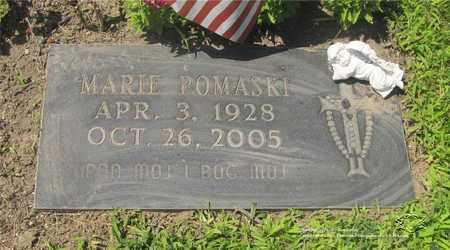POMASKI, MARIE - Lucas County, Ohio | MARIE POMASKI - Ohio Gravestone Photos