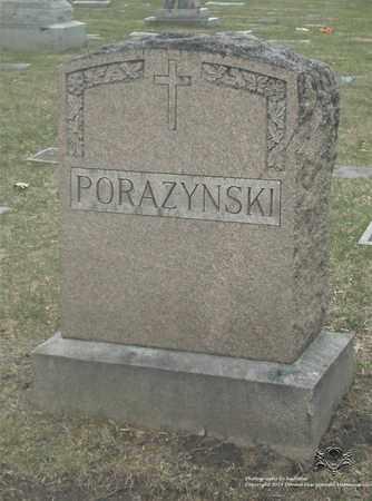 PORAZYNSKI, FAMILY MONUMENT - Lucas County, Ohio   FAMILY MONUMENT PORAZYNSKI - Ohio Gravestone Photos