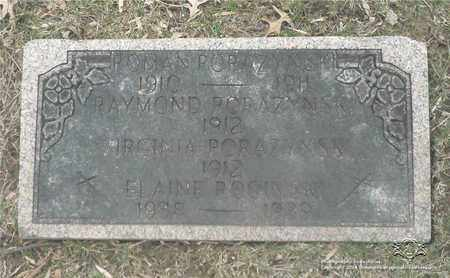 PORAZYNSKI, RAYMOND - Lucas County, Ohio | RAYMOND PORAZYNSKI - Ohio Gravestone Photos