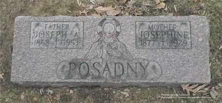 POSADNY, JOSEPHINE - Lucas County, Ohio | JOSEPHINE POSADNY - Ohio Gravestone Photos