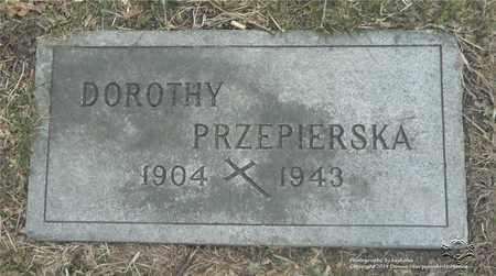 PRZEPIERSKA, DOROTHY - Lucas County, Ohio | DOROTHY PRZEPIERSKA - Ohio Gravestone Photos