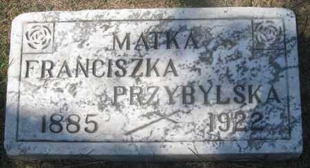 ROCHOWIAK PRZYBYLSKA, FRANCISZKA (FRANCES) - Lucas County, Ohio | FRANCISZKA (FRANCES) ROCHOWIAK PRZYBYLSKA - Ohio Gravestone Photos