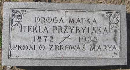MRUK PRZYBYLSKA, TEKLA - Lucas County, Ohio   TEKLA MRUK PRZYBYLSKA - Ohio Gravestone Photos
