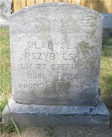 PRZYBYLSKA, WLADYSLAWA - Lucas County, Ohio | WLADYSLAWA PRZYBYLSKA - Ohio Gravestone Photos