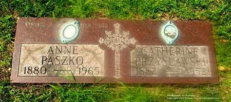 PRZYSLAWSKI PASZKO, ANNE - Lucas County, Ohio | ANNE PRZYSLAWSKI PASZKO - Ohio Gravestone Photos