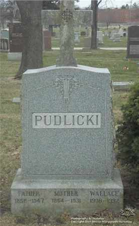PUDLICKI, WALLACE - Lucas County, Ohio | WALLACE PUDLICKI - Ohio Gravestone Photos