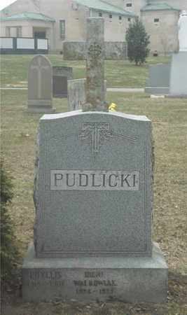 PUDLICKI, PHYLLIS - Lucas County, Ohio | PHYLLIS PUDLICKI - Ohio Gravestone Photos