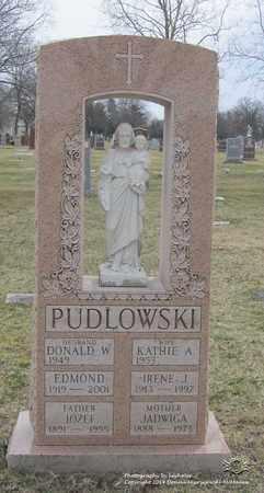 PUDLOWSKI, JADWIGA - Lucas County, Ohio | JADWIGA PUDLOWSKI - Ohio Gravestone Photos