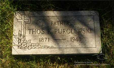 PURCLEWSKI, THOMAS - Lucas County, Ohio | THOMAS PURCLEWSKI - Ohio Gravestone Photos