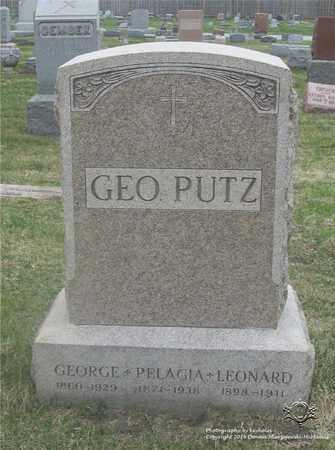 ZIELINSKI PUTZ, PELAGIA - Lucas County, Ohio | PELAGIA ZIELINSKI PUTZ - Ohio Gravestone Photos