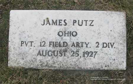 PUTZ, JAMES - Lucas County, Ohio | JAMES PUTZ - Ohio Gravestone Photos