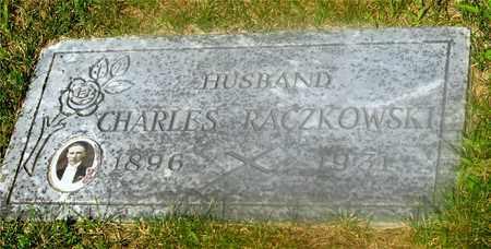 RACZKOWSKI, CHARLES - Lucas County, Ohio   CHARLES RACZKOWSKI - Ohio Gravestone Photos