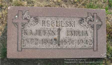 WYSOCKI REGULSKI, EMILIA - Lucas County, Ohio | EMILIA WYSOCKI REGULSKI - Ohio Gravestone Photos