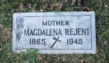 REJENT, MAGDALENA - Lucas County, Ohio | MAGDALENA REJENT - Ohio Gravestone Photos